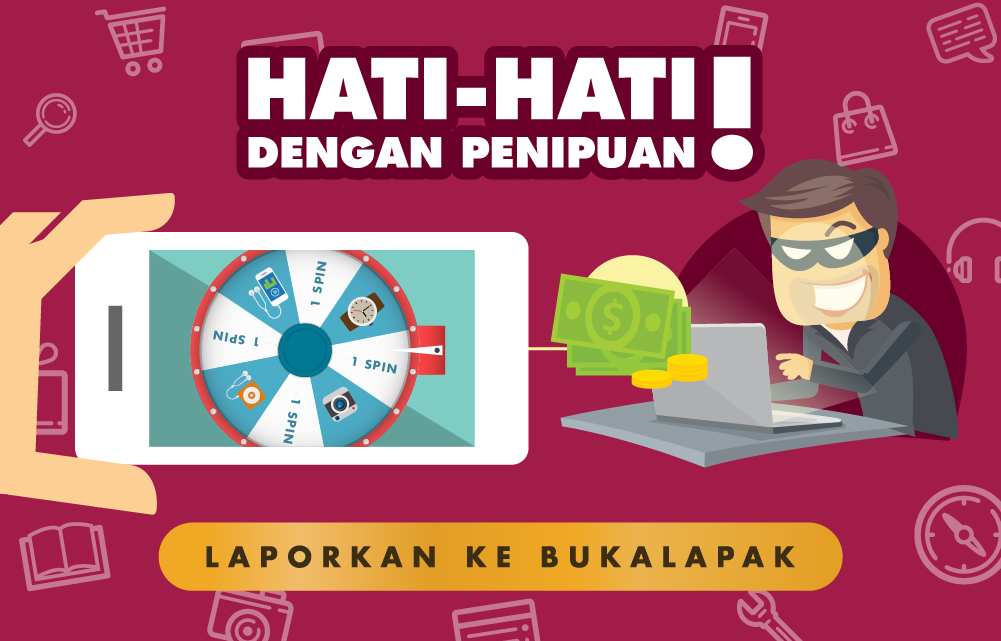 Tips Menghindari Penipuan Jual Beli Online Di Bukalapak Official