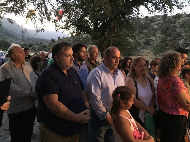 Στο εξωκλήσι της Αγίας Παρασκευής στη Φρουσιούνα ο Αντιπεριφερειάρχης Αργολίδας