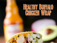 Healthy Buffalo Chicken Wrap Recipe