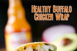 Healthy Buffalo Chicken Wrap Recipe