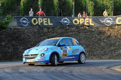 Το ADAC Opel Rallye Cup και πάλι στο Γερμανικό Γύρο του WRC