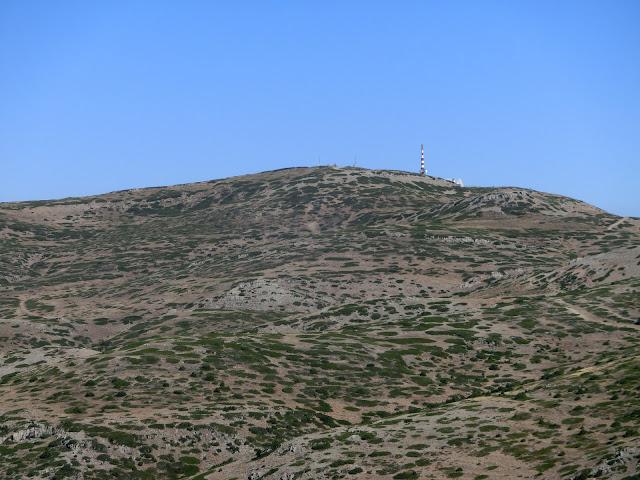 pico javalambre visto desde el cerro verdinales