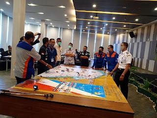 Bagini Latihan Marpolex 2020 Di Lampung dari Table Top Exercise