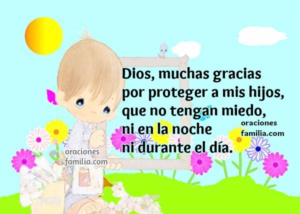 Oración para que Dios cuide, dé protección a mis hijos, Salmo 91, Mery Bracho.