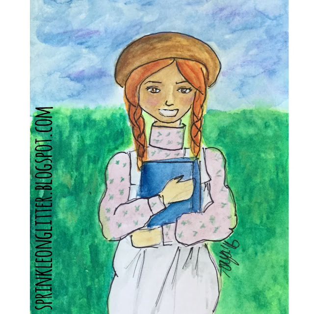 Sprinkle On Glitter Blog// Anne of Green Gables// Happy Thanksgiving