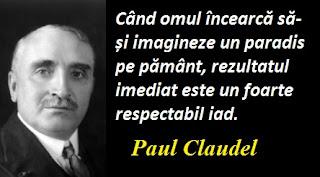 Citatul zilei: 6 august -  Paul Claudel