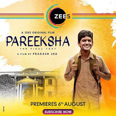 Pareeksha film poster and Wiki,
