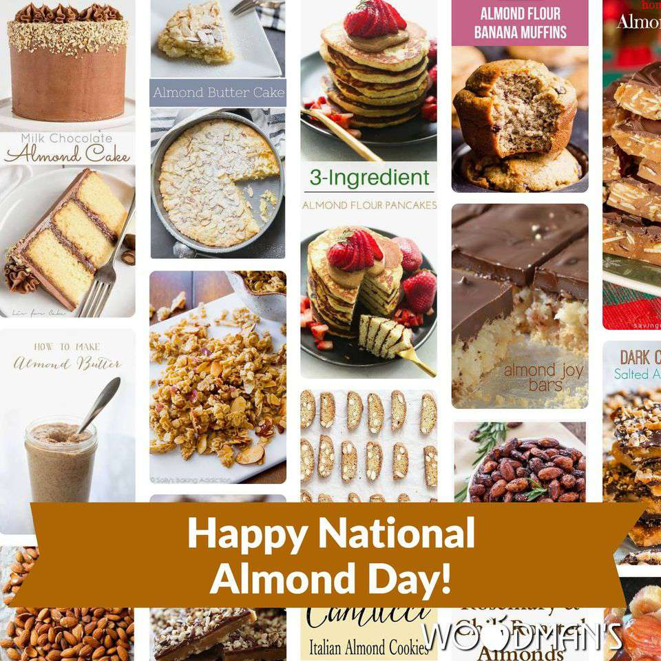 National Almond Day Wishes Photos
