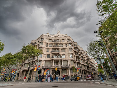 Casa Mila  Barcelona by Laurence Norah