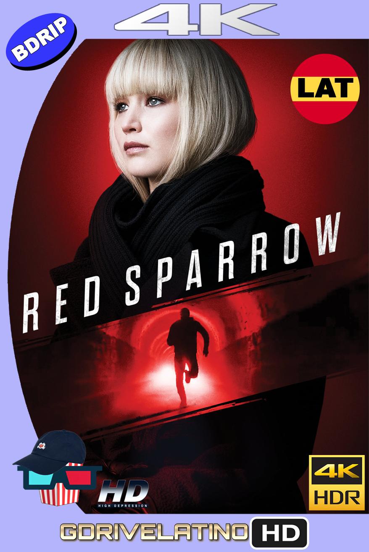Operación Red Sparrow (2018) BDRip 4K HDR Latino-Ingles MKV
