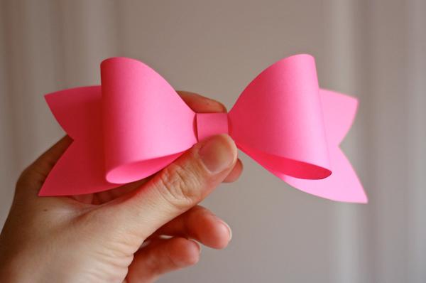 Diy origami bow!! | Diy origami, Muttertagskarte basteln ... | 398x600