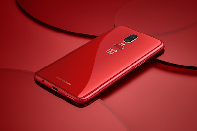 OnePlus 6 Red color variant launched