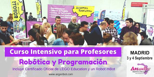 Curso de Robótica y Tecnología para Profesores