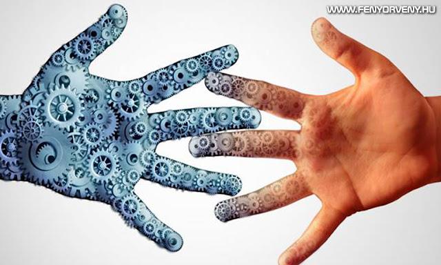 A tudat befolyásolása a gépekre