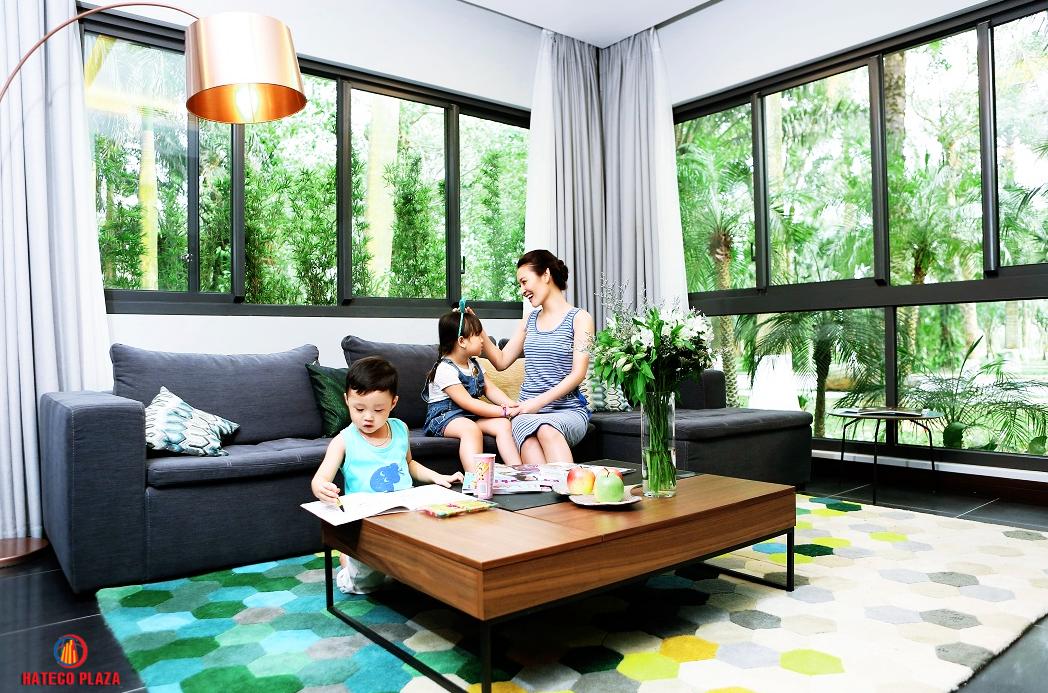 Không gian sống tiện nghi của chung cư Hateco Huỳnh Thúc Kháng
