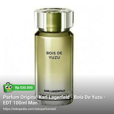 karl lagerfeld bois de yuzu edt 100ml man