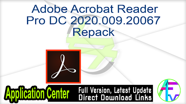 Adobe Acrobat Reader Pro DC 2020.009.20067 Repack