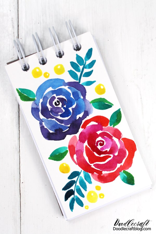 These small notebooks are the perfect size for quick notes, sticking in a purse--great teacher gift idea.