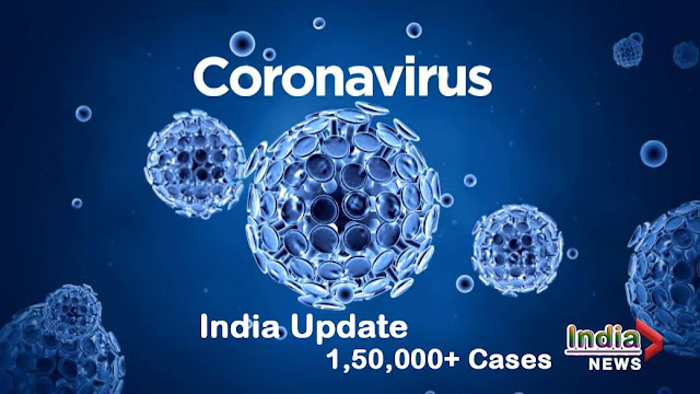 Coronavirus India Update - 1.5 Lakh Cases of COVID-19 in India