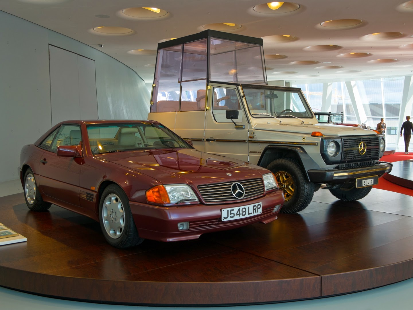 hello talalay: special purpose vehicles at the mercedes-benz museum