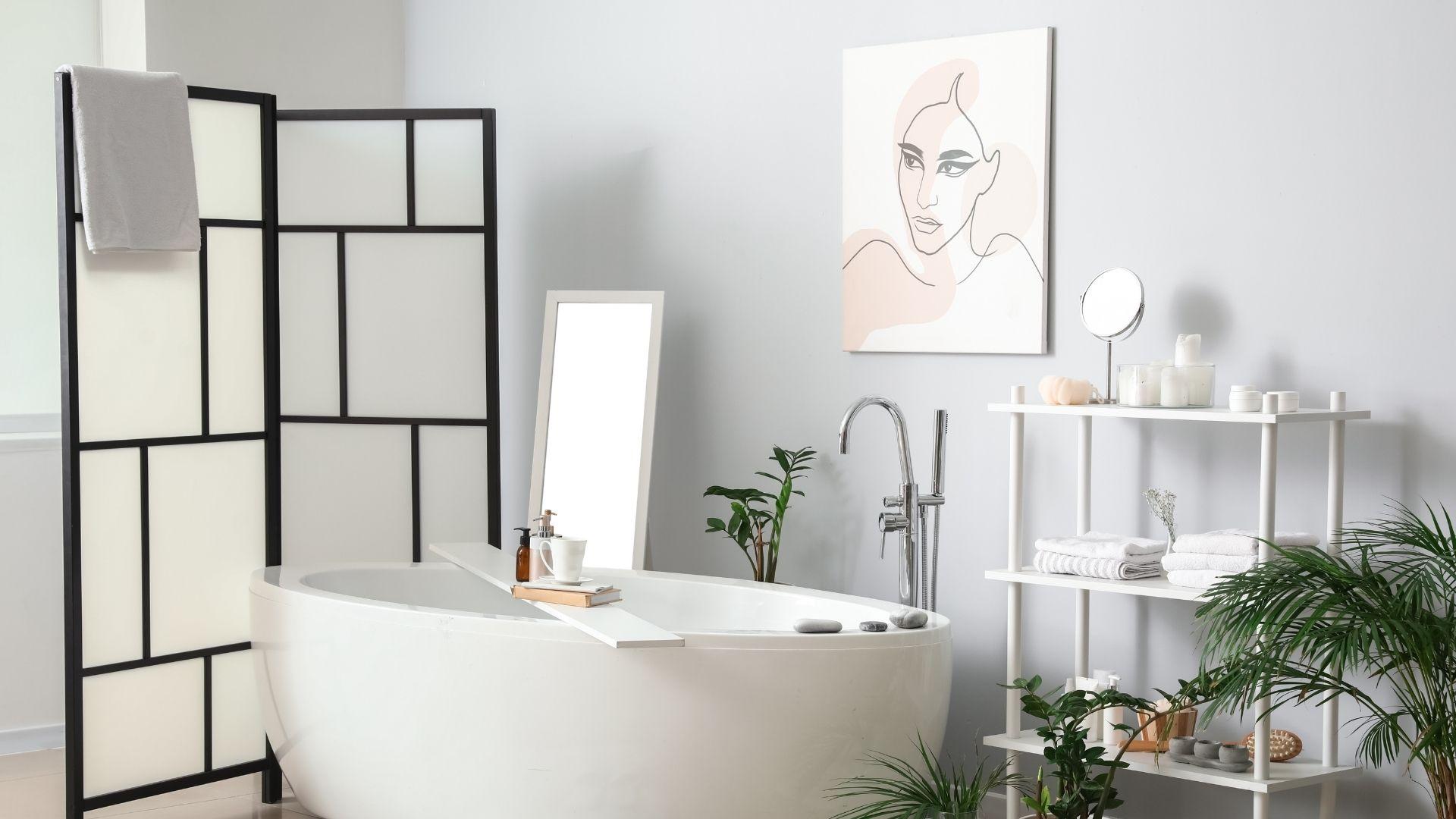 ozdoby na ścianę łazienki