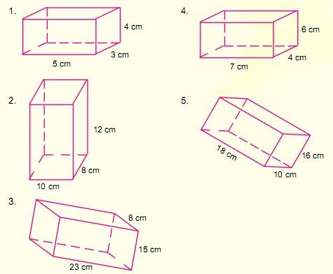 Contoh Soal Volume Balok Matematika Kelas 5 SD