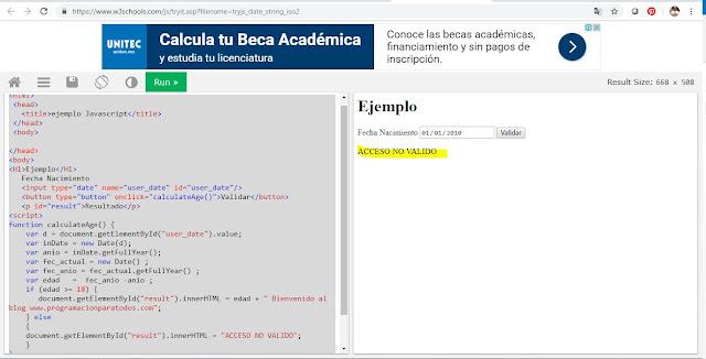 programar en javascript