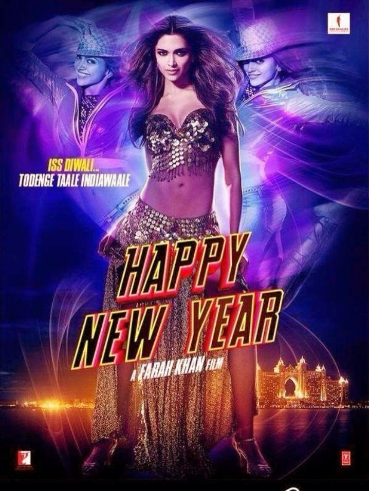 Sizzling First New hot Look of Deepika Padukone from Happy New Year Movie