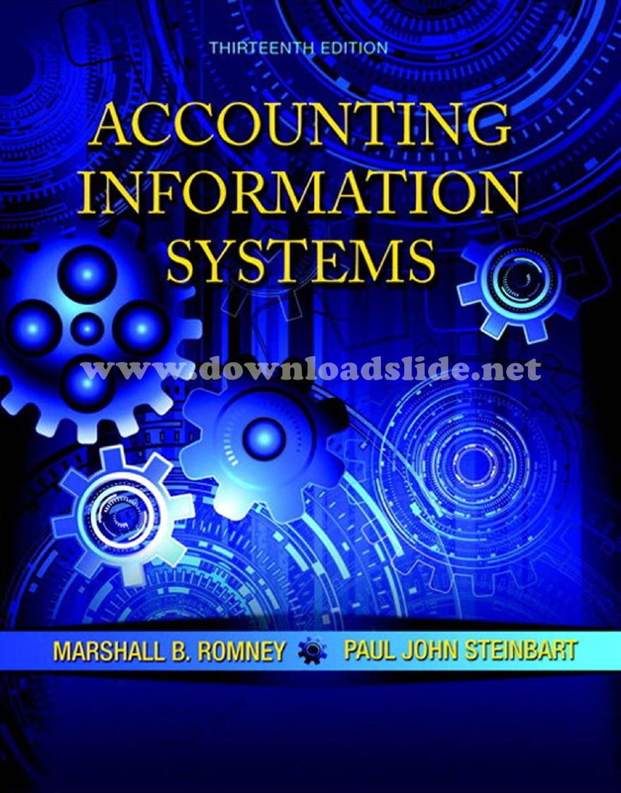 Accounting Information Systems Romney Ebook