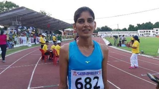 राष्ट्रीय अंतरराज्यीय एथलेटिक्स चैंपियनशिप :उत्तर प्रदेश की इस बेटी ने दिलाया पहला स्वर्ण
