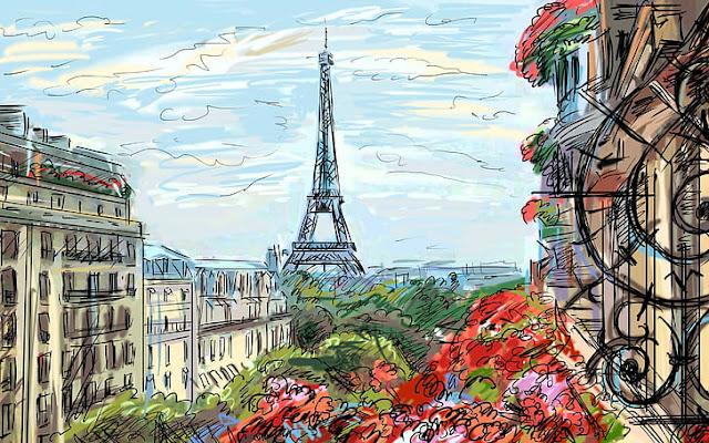 JeT'aime' Paris dan Sehimpun Puisi Lainnya [Puisi]
