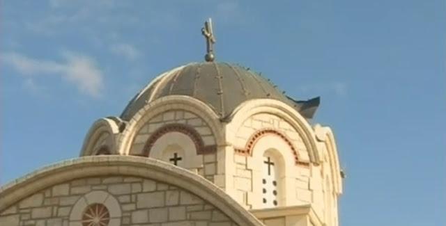 Αποθρασύνθηκαν τελείως: Έκλεψαν τον χαλκό από τρούλο εκκλησίας στην Αρκαδία (βίντεο)