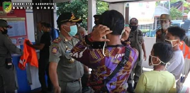 Penerapan Sanksi Pelanggar Protokol Kesehatan Diberlakukan di Barito Utara