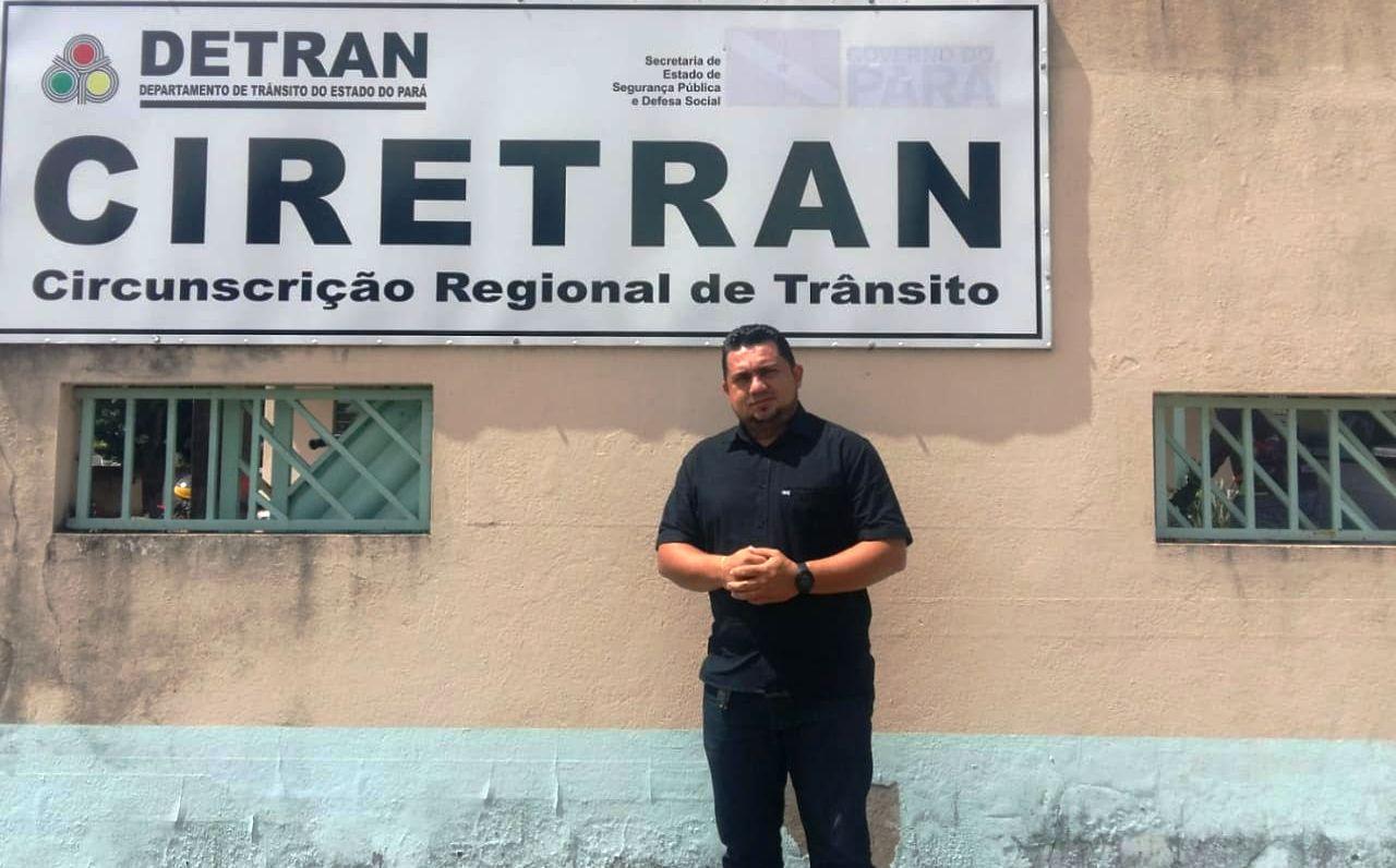 Equipe do Detran vai a Óbidos renovar e emitir CNH  pela primeira vez no ano