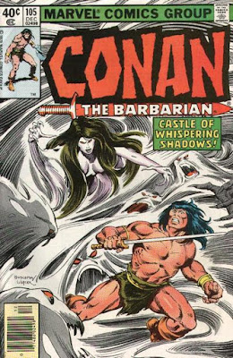Conan the barbarian #105
