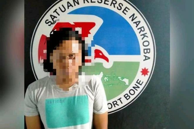 Pemuda Walanae Diamankan Polisi Usai Simpan Sabu di Kandang Ayam