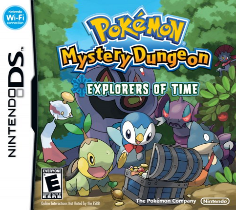 Pokémon Mystery Dungeon Explorers of Time ROM DS