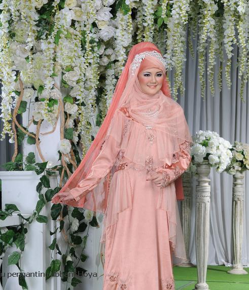 Insprasi Baju Pengantin Muslimah Syar i Inspirasi