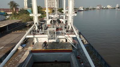 Deck Cargo Reefer - MV. Sea Pearl 1, Panama Flag
