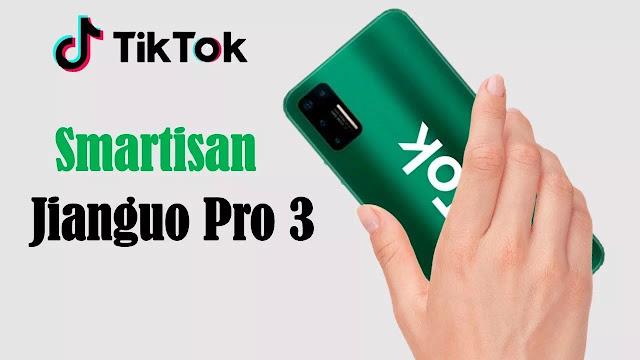 Jianguo Pro 3 Smartphone Gahar dari TikTok