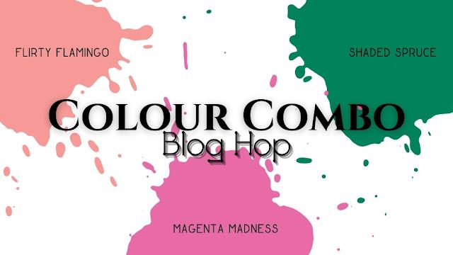 Craftyduckydoodah, Stampin' Up, Beauty of Friendship, Colour Combo Blog Hop,