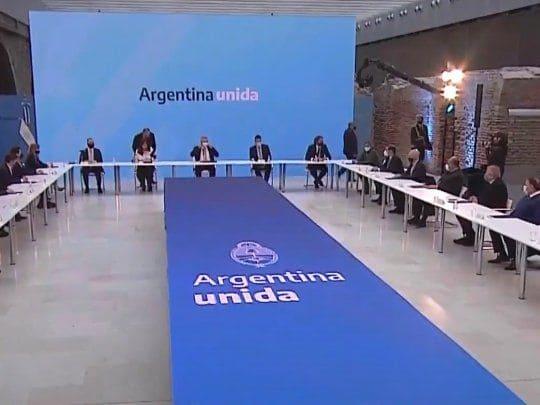 """destacan que """"Argentina salió del default"""" y que el 1% que no aceptó """"no es problema"""""""