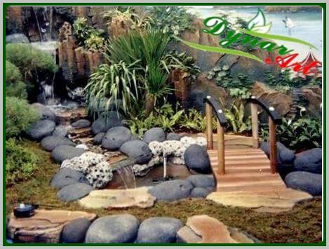 galeri kolam klasik | kolam air terjun | kolam air mancur