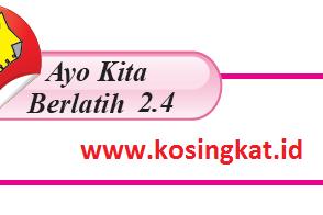 Kunci Jawaban Matematika Kelas 7 Halaman 139 Ayo Kita Berlatih 2.4