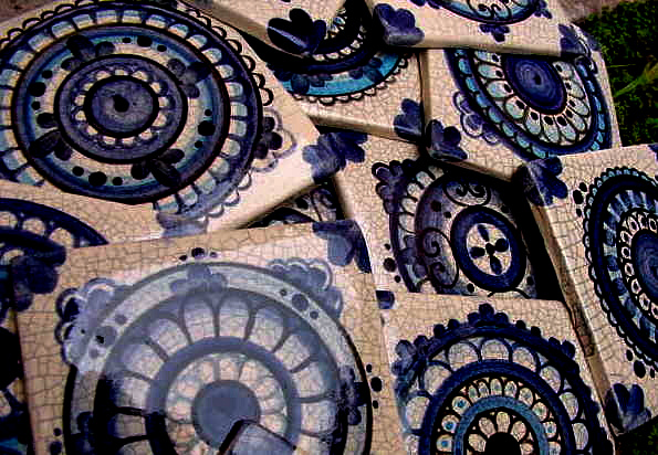 Santa mar a de los buenos aires - Azulejos artesanales ...