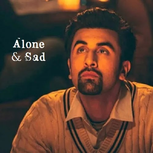 alone and sad DP for boys