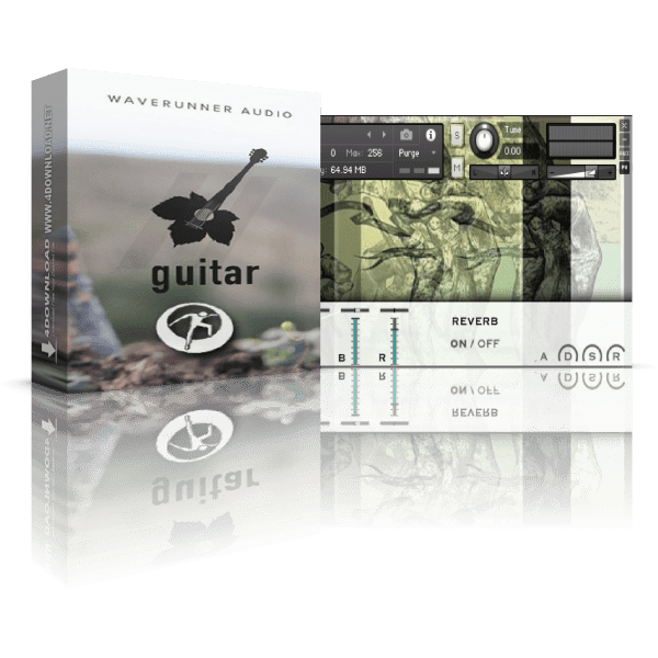 WaveRunner Audio John's Guitar KONTAKT Library