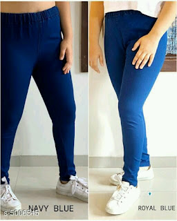 Denim Solid Jeggings
