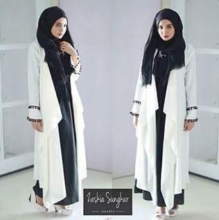 Koleksi Model Baju Busana Muslim Syar'i Favorit Para Wanita