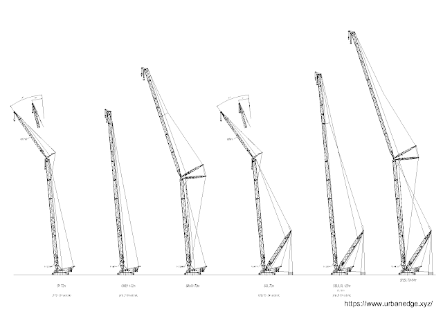 Cranes free cad blocks dwg download - 5+ dwg models